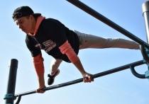 Воркаут-соревнования на кубок губернатора завершились в Пскове