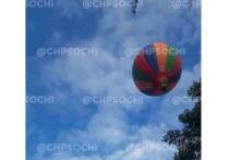 СМИ: на борту упавшего в Сочи воздушного шара не было спасательных жилетов
