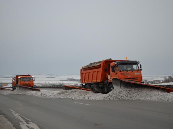 Сложные метеусловия - на трассах Тувы, Хакасии и Красноярского края