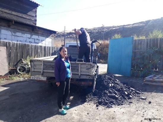 Количество получателей бесплатного угля в Туве выросло в 4,5 раза