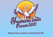 До оглашения имени победителя Всероссийского конкурса «Учитель года России – 2021» остается совсем немного времени