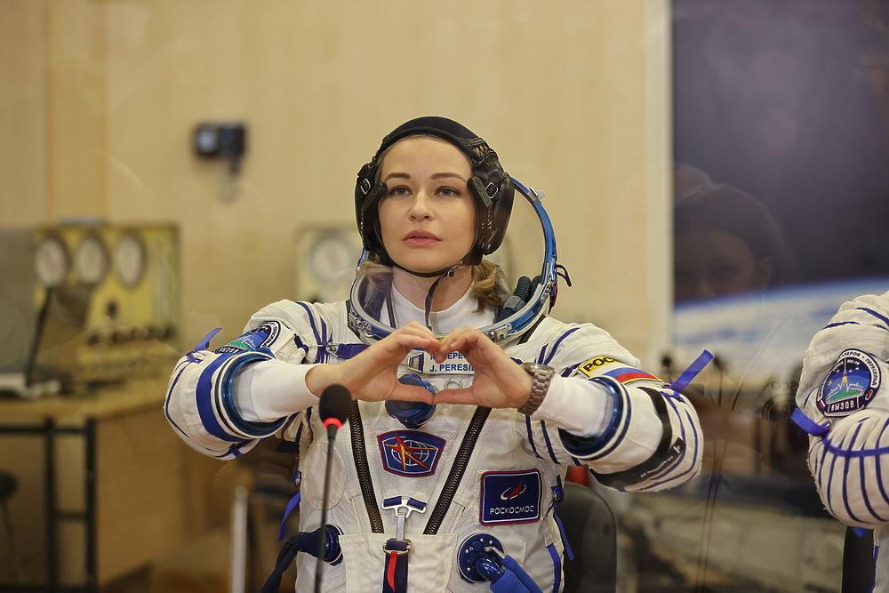Юлия Пересильд перед полетом в космос светилась от счастья: фотогалерея