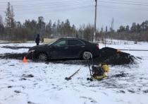 Девочка-подросток пострадала в аварии в Губкинском