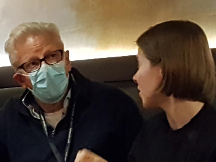 Режиссер Ян Фабр снял шляпу перед русской актрисой Марией Селезневой
