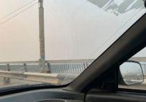 Астраханскую область заволокло дымом