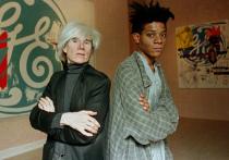 7 октября на выставке в Гонконге покажут портрет Жан-Мишеля Баскии, созданный его близким другом Энди Уорхолом