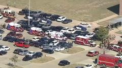 Опубликованы кадры с места стрельбы в школе Техаса