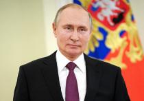 Вениамин Кондратьев поздравил Владимира Путина с днём рождения