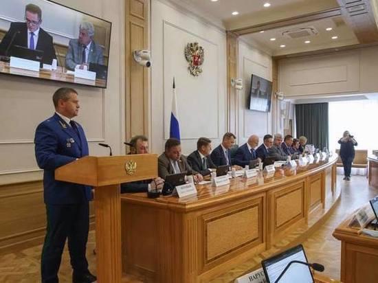 СФ одобрил кандидатуру Сергея Дябкина на должность прокурора Тувы