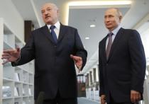 Лукашенко поздравил Путина с 69-летием