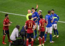 Форвард сборной Италии Кьеза раскритиковал российского арбитра Карасева