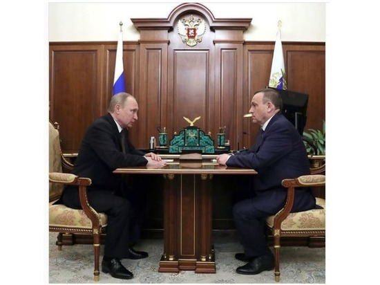 Глава Марий Эл поздравил Президента с днем рождения