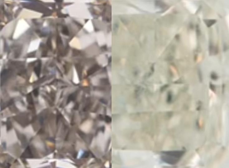 Найден редчайший алмаз, меняющий цвет на холоде