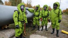 День гражданской обороны отметили на учебной площадке отряда «Лидер» МЧС России