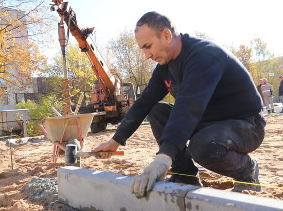 В Иванове - в самом разгаре строительство ФОК открытого типа