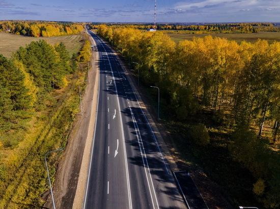 Отремонтировано больше 44 км трассы Йошкар-Ола – Уржум