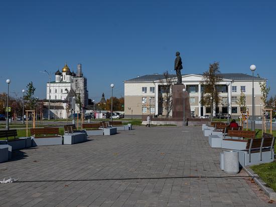 О необходимости реконструкции площади Ленина в Пскове заговорили ещё в 2009-м