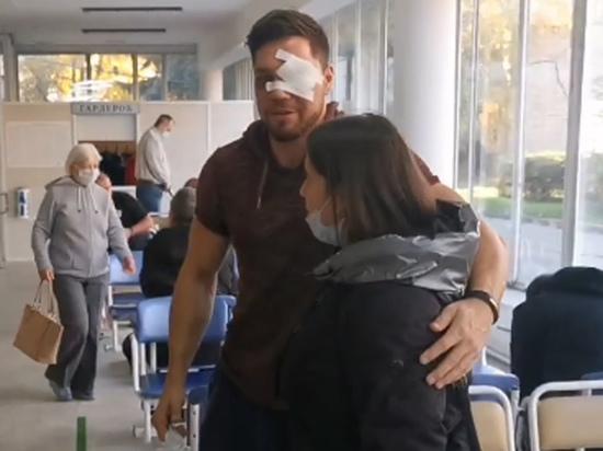 «Литр крови вытек»: избитый дагестанцами в метро рассказал о состоянии