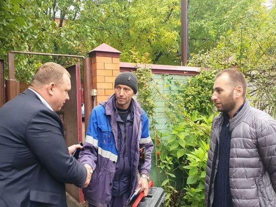 Результат «прямой линии» с губернатором: жителю Ессентукской подали газ