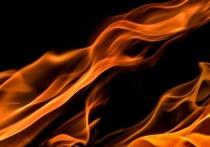 Кемеровчане сообщили о пожаре в Ленинском районе