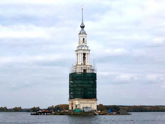 В Тверской области завершается реставрация Калязинской колокольни