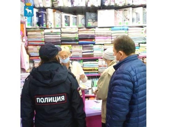 В Йошкар-Оле сотрудники УВД ищут посетителей магазинов без масок