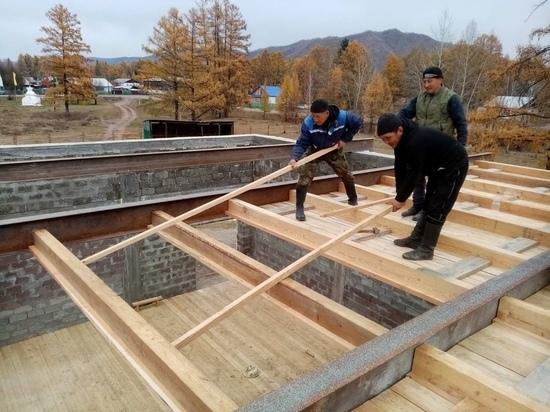 В Туве идет строительство сельских Домов культуры