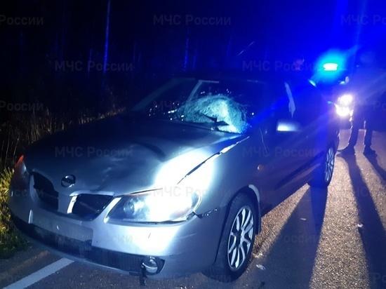 В Ульяновском районе под колеса иномарки попал пешеход