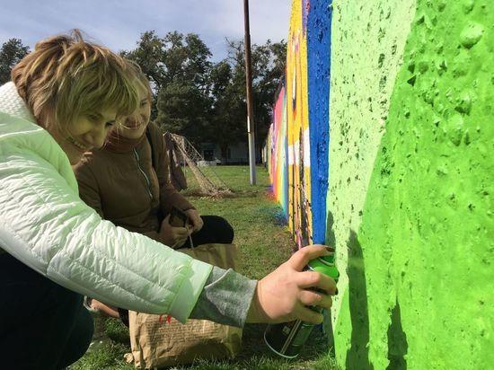 Фестиваль граффити устроили на Ставрополье