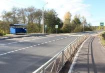 19 км дороги Великие Луки – Усвяты приняли после ремонта