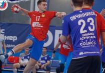 В Москве астраханское гандбольное «Динамо» соперничало с ЦСКА