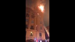 Как горели 800 квадратов в доме на набережной реки Карповки
