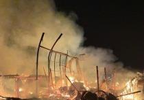 В Усть-Куте горели две пилорамы