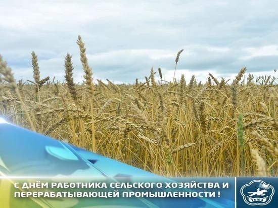 Владислав Ховалыг поздравил с Днем работника сельского хозяйства