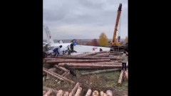 В Татарстане разбился самолет с парашютистами: видео с места
