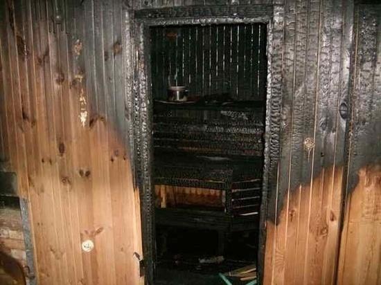 В Ивановской области в очередной раз сгорела баня
