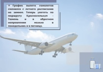Зимнее расписание: авиарейсы Красноселькуп — Тюмень будут выполняться реже
