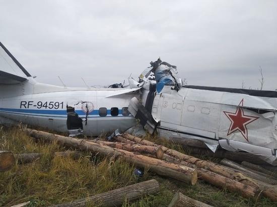 При крушении самолета в Татарстане пострадал житель Йошкар-Олы