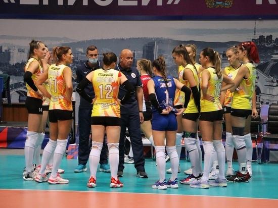 Волейболистки красноярского «Енисея» проиграли саратовскому «Протону» со счетом 0:3