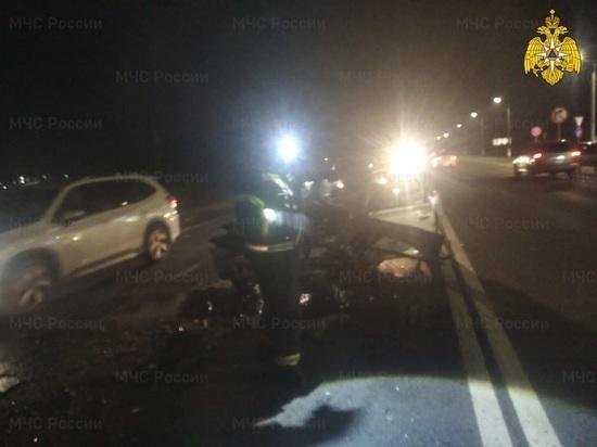 Несколько человек пострадали на федеральной трассе под Калугой