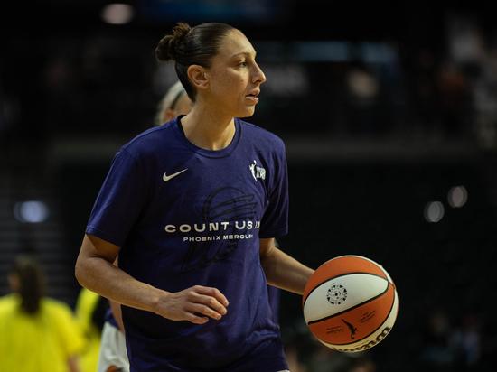 Баскетболистка Таурази признана величайшим игроком женской НБА всех времен
