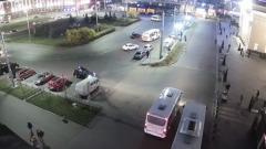 Автобус сбил пешехода у вокзала в Петрозаводске