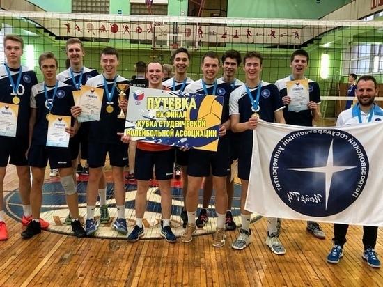 Волейболисты из ПетрГУ победили на отборочном Кубке по Северо-западу