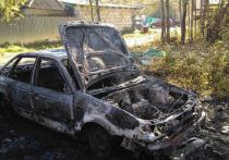 Под Ряжском мужчина чуть не сгорел вместе с авто из-за курения в салоне