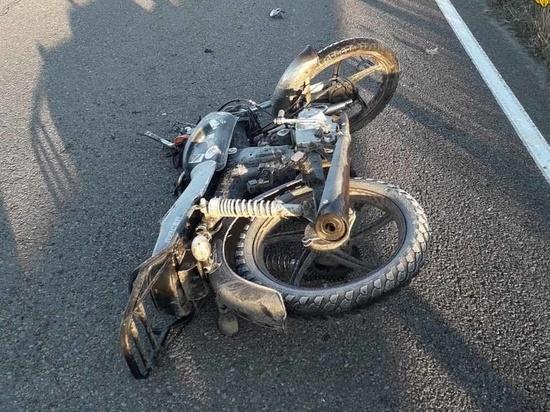 В Калужской области погиб водитель мопеда