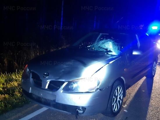Молодая женщина насмерть сбила пешехода в Калужской области