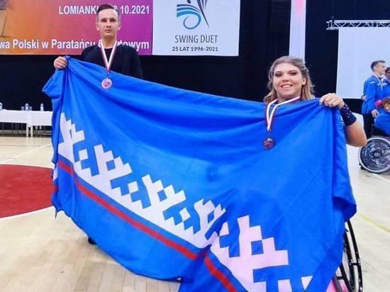 «Бронзу» завоевали на международных состязаниях танцоры с ОВЗ из Ямала