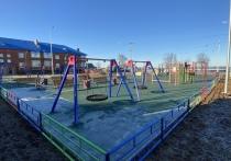 Большую спортивно-игровую площадку построили в селе Шурышкарского района