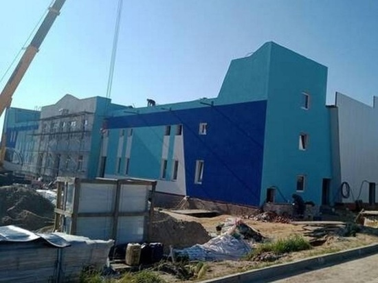 Ледовый дворец в брянском Дятькове откроется до конца года