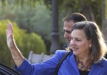 Заместитель госсекретаря США Виктория Нуланд отправилась с визитом в Россию